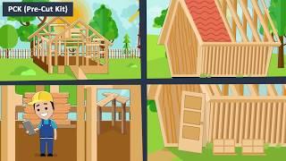 Best Choice - Timber Frame Cabins - DIY plans - Kits - Four Season Comfort