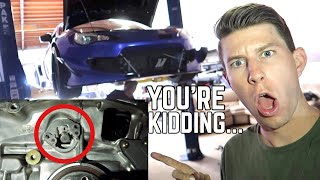 THIS IS WHAT KILLED MY BRZ! Can't believe this...