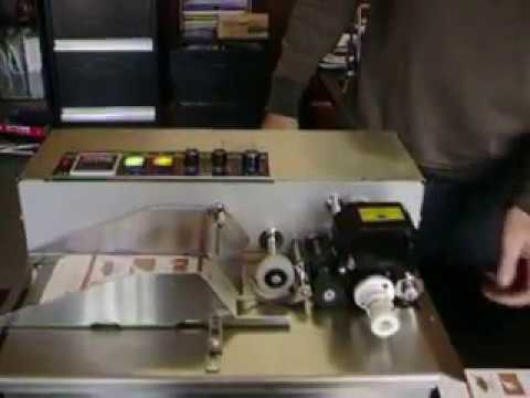 DK 300 HOT INK ROLL TABLE CODER
