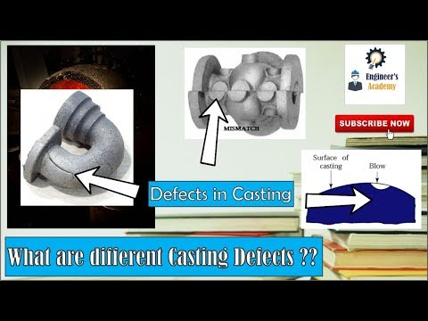 Defects in Casting & Its Causes ?? ||Engineer's Academy