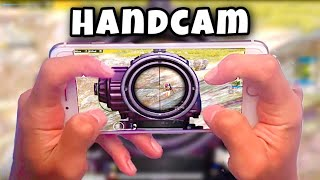 King Of 4 FINGERS CLAW HANDCAM | iPHONE 8 PLUS | PUBG MOBILE