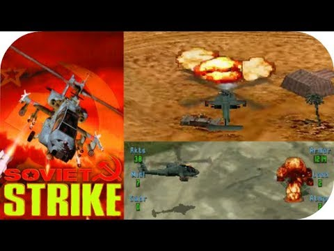 Soviet Strike - Playstation Gameplay Moments HD