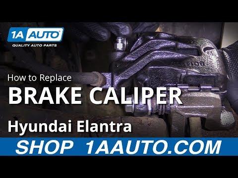 How To Replace Brake Caliper 07-10 Hyundai Elantra
