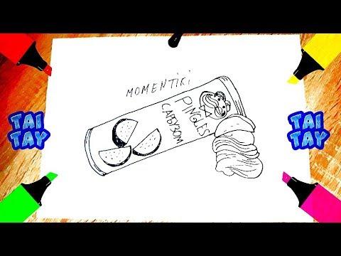 Как нарисовать чипсы