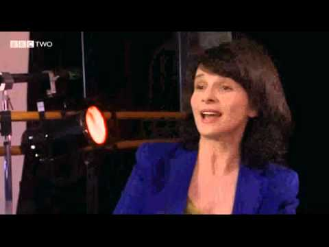 Juliette Binoche 2012 on the London Stage BBC interview