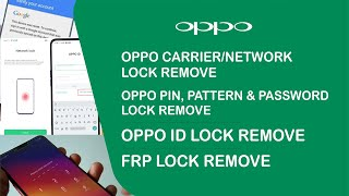 How to Unlock Oppo T29 Carrier/Network Lock, FRP and Oppo ID/Account Lock