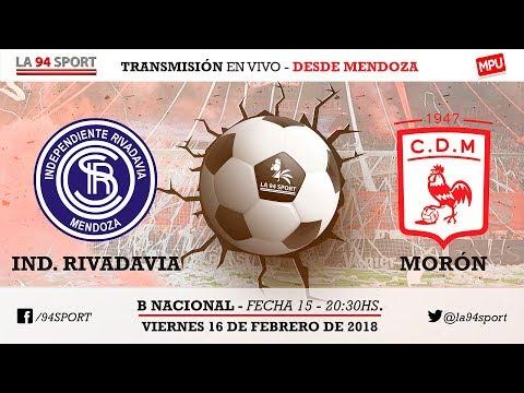 [VIVO HD] Ind. Rivadavia Vs. Dep. Morón / Fecha 15 - B Nacional En Vivo