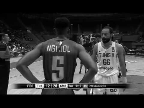 Ngijol Robert Songolo Afrobasket 2017 Highlights