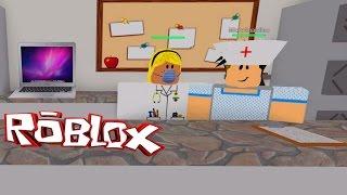 ROBLOX HOSPITAL ROLEPLAY | DOCTOR SCHOOL | RADIOJH GAMES & MICROGUARDIAN
