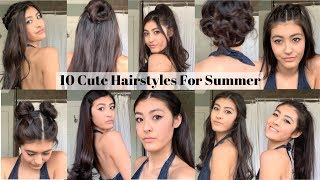 10 Cute Hairstyles For The Summer