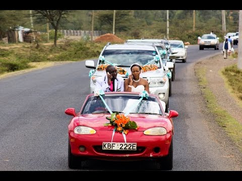 BOMET'S WEDDING OF THE YEAR IN KENYA, Jackie & Walter