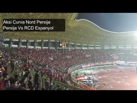 Chants Ultras Curva Nord Persija Bikin Merinding - Persija VS RCD Espanyol