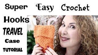 Easy Crochet Travel  cover for your Hooks