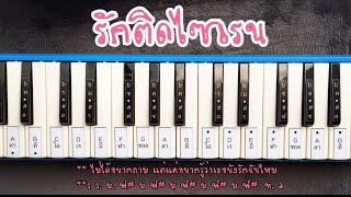 🌈โน้ตเพลง รักติดไซเรน ไอซ์/แพรวา เมโลเดียน Kim Cover