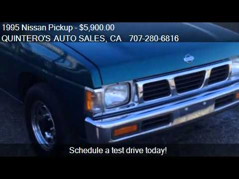 1995 Nissan Pickup Xe King Cab 2wd For Sale In Vacaville