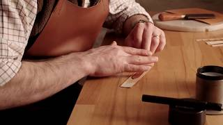 Making of Leather Watch Strap - Leather Odds - Part 1