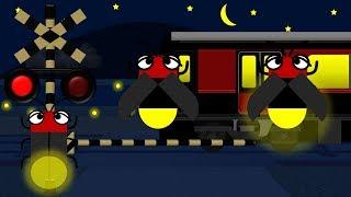 蛍ふみきりと電車 | こどもアニメ
