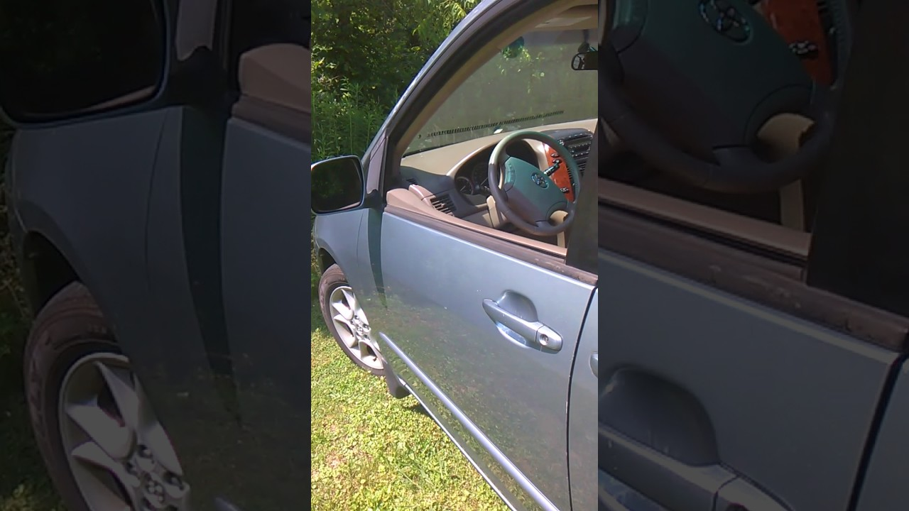 2005 Toyota Sienna Alarm test