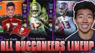 ALL TIME BUCCANEERS TEAM! BRADY, GODWIN, EVANS! Madden 20 Ultimate Team