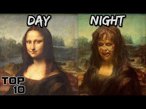 Top 10 Scary Cursed Paintings You Should NEVER See