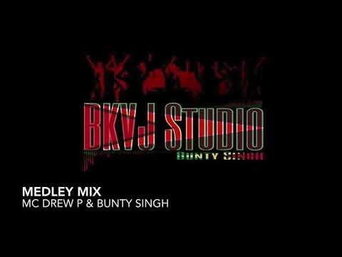 MC Drew P & Bunty Singh - Medley Mix (2019 Guyana Chutney)