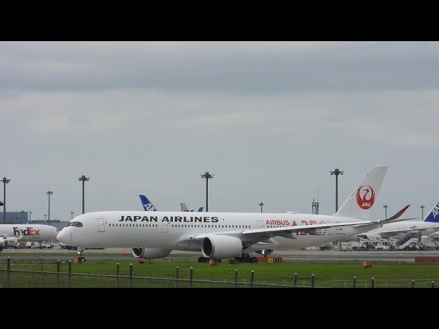 Japan Airlines Red Airbus A350 Airbus A350 900 Departure 2019 07 10 15 09 15 25 Jst Narita Omyplane