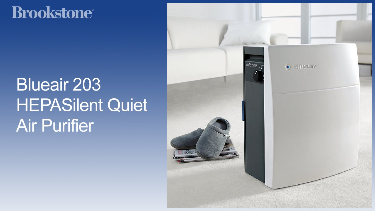 blueair 203 quiet air purifier youtube. Black Bedroom Furniture Sets. Home Design Ideas