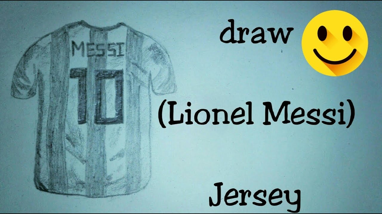 abdaa1ad7 Draw (Lionel Messi) Jersey