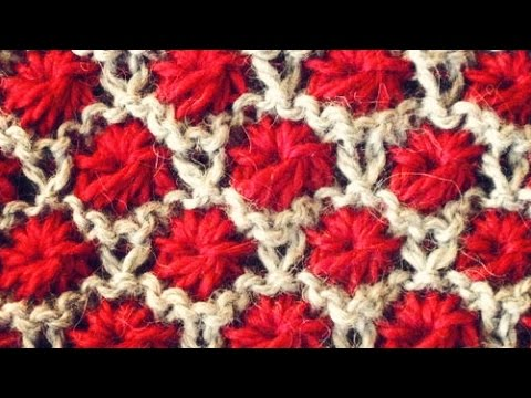 Flower Knitting Stitch Patterns Youtube