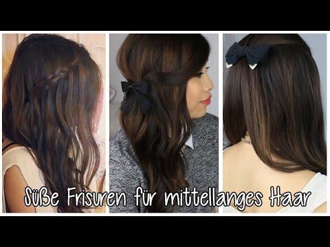 3 Süße Frisuren Zum Nachmachen Kisu YouTube