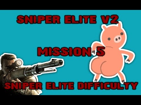 LONCENG KEMATIAN!! (Sniper Elite V2 Gameplay | MISSION 5 | Sniper Elite Difficulty) |