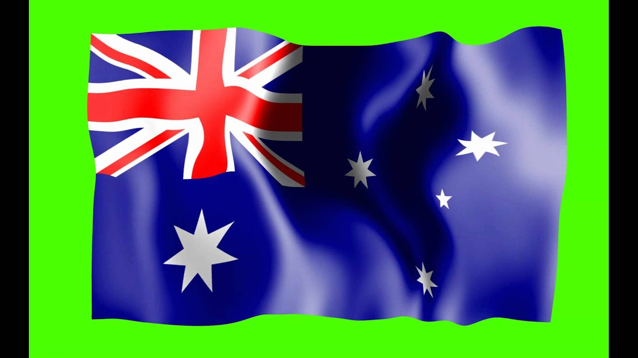 3d Watch Wallpaper Free Download Australia Flag Green Screen Animation Free Royalty