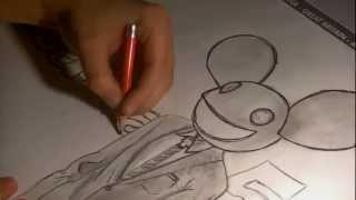 how to draw deadmau5