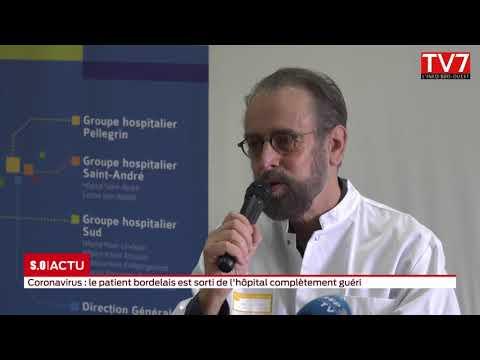 Bordeaux: le patient infecté par le coronavirus est guéri