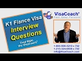 2017 K1 Fiance Visa Sample interview questions k111
