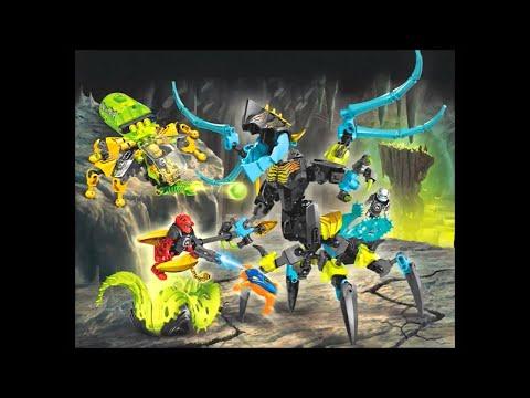 Обзор набора Lego 44029 Королева монстров против Эво,Фурно и Стормера.