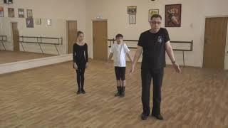 Уроки татарского танца. Танец татар-кряшен