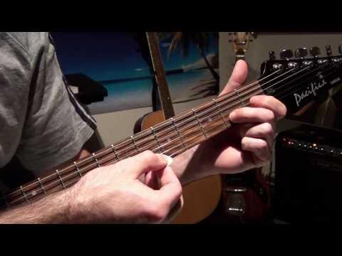 how to play bang bang by nancy sinatra kill bill soundtrack video tutorial