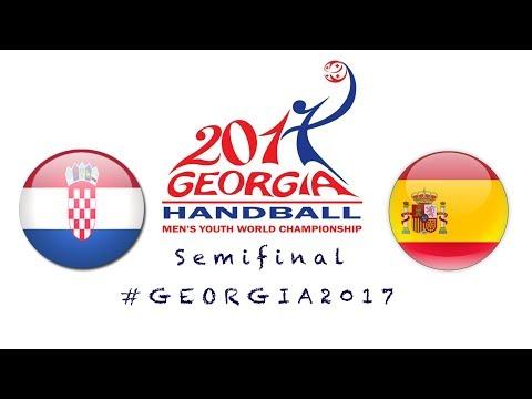 Croatia - Spain (Semifinal) IHF Men's Youth World Championship