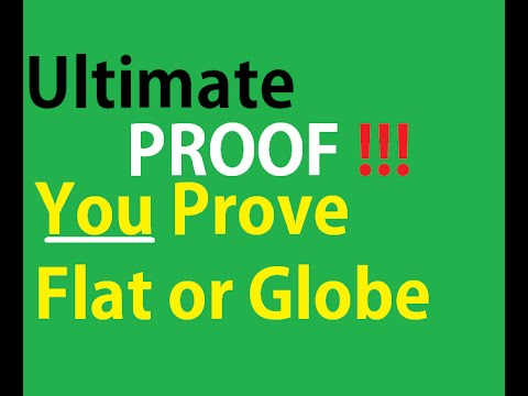 100%  KNOW if the Earth is A Globe Or Flat - It will soon be over! thumbnail