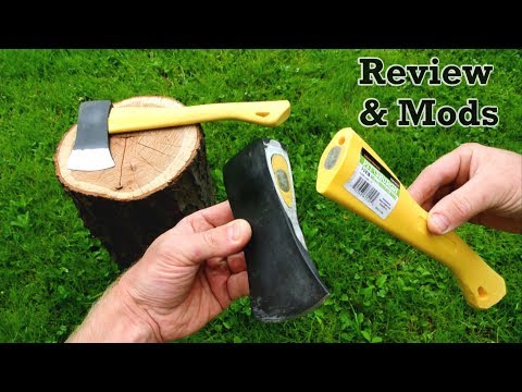 Harbor Freight's 8$ PITTSBURGH Hatchet: Inside-Out
