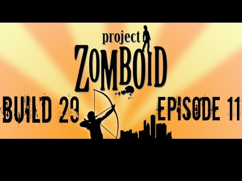 Shotgun Massacre at the Police Station| Project Zomboid Build 29 | Episode 11