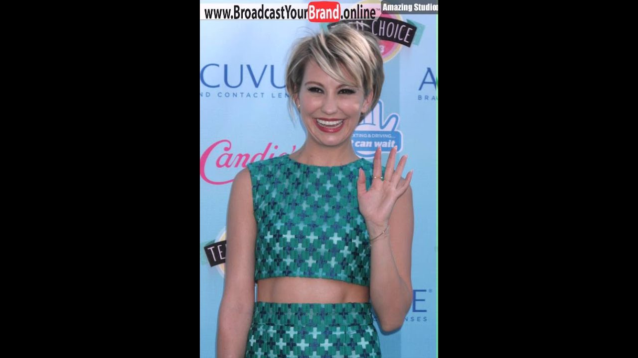 Chelsea Kane Short Haircut For Straight Hair Sharply Angled Layered