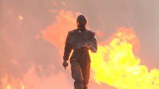 Сквозь огонь и взрывы: боевую экипировку