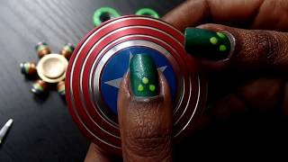 ASMR: spinning! MY SMALL but growing FIDGET SPINNER COLLECTION