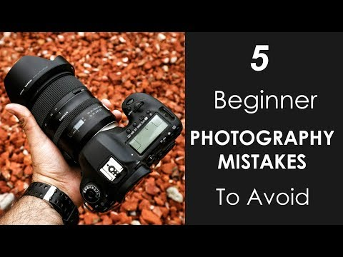 5 Beginner Photography MISTAKES to Avoid - How to Take Better Photos thumbnail