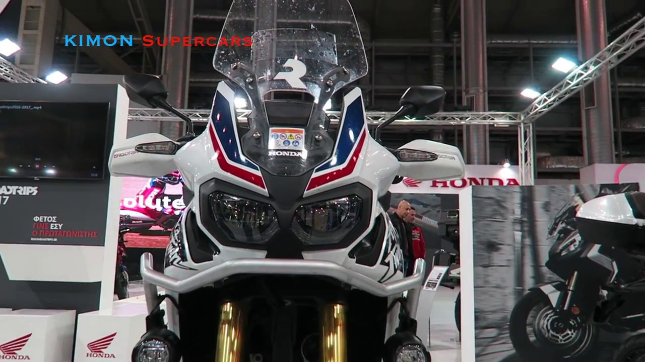 NEW 2018 Honda Africa Twin - YouTube