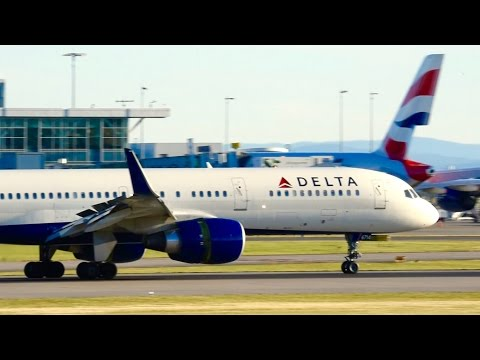 Full Day of Windy Landings - 26R at Vancouver (YVR) Airport / 04JUN16