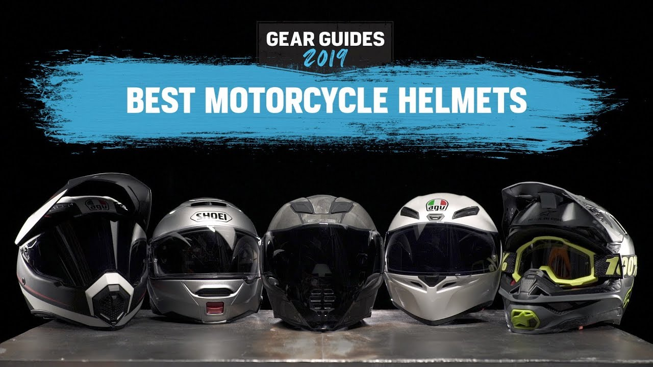 e70ca15b Best Motorcycle Helmets 2019 - YouTube