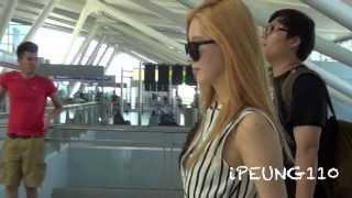 [FANCAM HD] 150809 #GirlsGeneration leaving New York by ipeung110